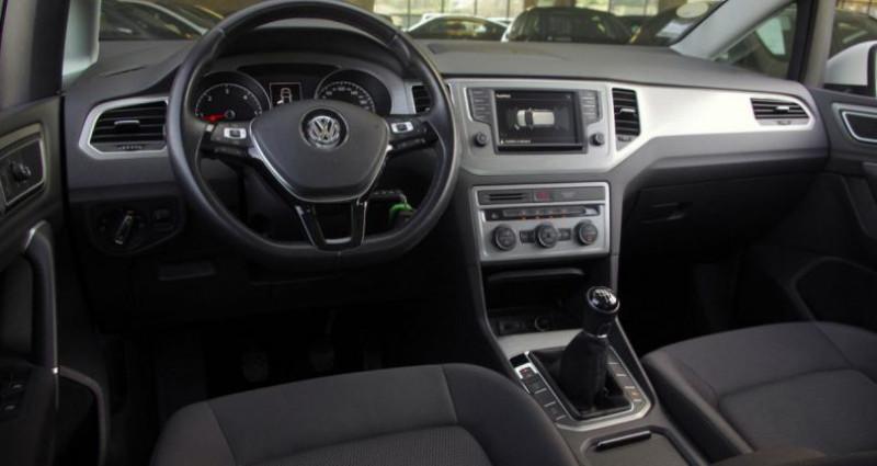 Volkswagen Golf Sportsvan 1.6 TDI 115 BLUEMOTION TECHNOLOGY CONFORTLINE Blanc occasion à Chambourcy - photo n°2