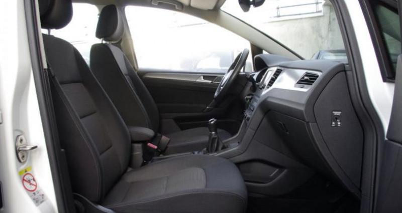 Volkswagen Golf Sportsvan 1.6 TDI 115 BLUEMOTION TECHNOLOGY CONFORTLINE Blanc occasion à Chambourcy - photo n°3