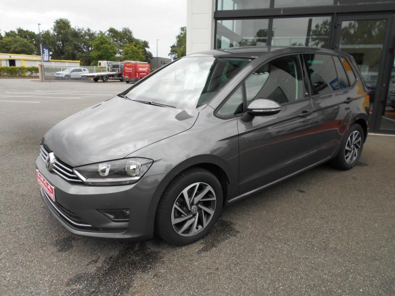 Volkswagen Golf Sportsvan 1.6 TDI 115 FAP BMT Sound Gris occasion à Bessières - photo n°4