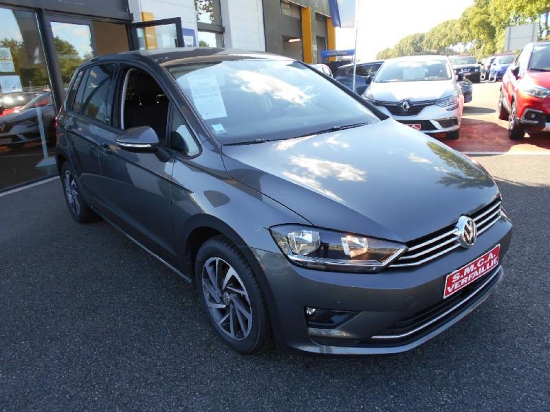Volkswagen Golf Sportsvan 1.6 TDI 115 FAP BMT Sound Gris occasion à Bessières