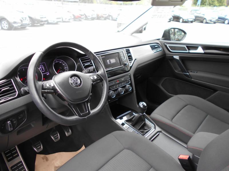 Volkswagen Golf Sportsvan 1.6 TDI 115 FAP BMT Sound Gris occasion à Bessières - photo n°10