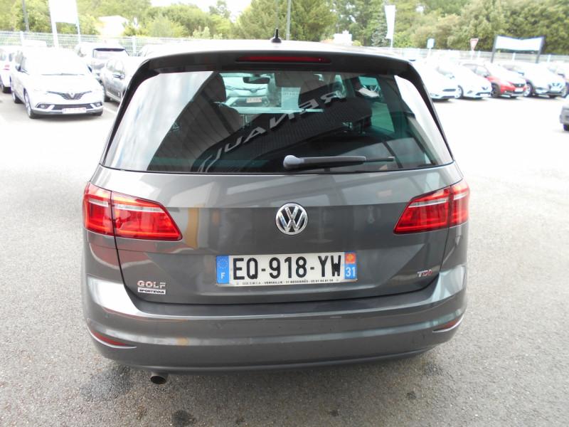Volkswagen Golf Sportsvan 1.6 TDI 115 FAP BMT Sound Gris occasion à Bessières - photo n°6
