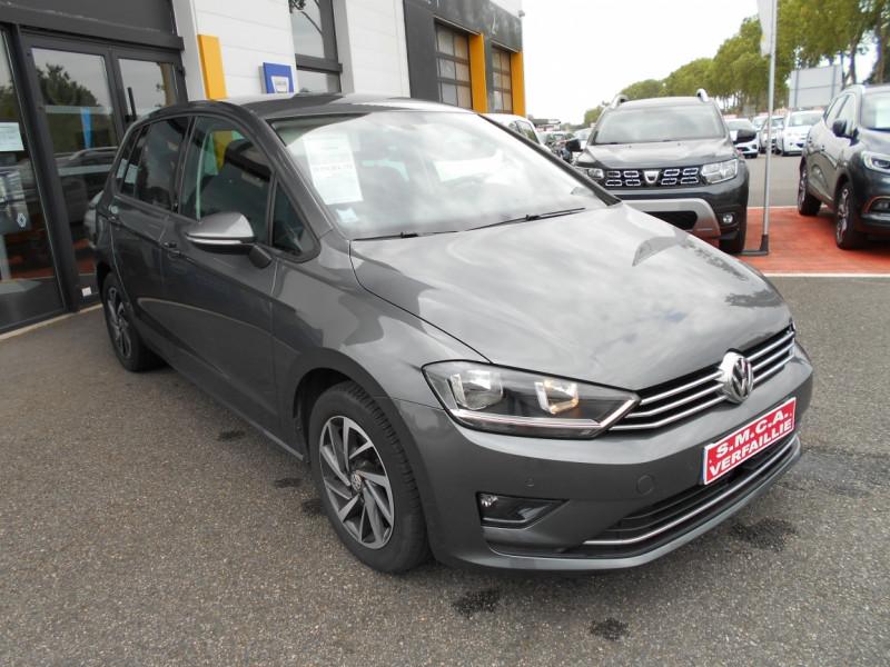 Volkswagen Golf Sportsvan 1.6 TDI 115 FAP BMT Sound Gris occasion à Bessières - photo n°3