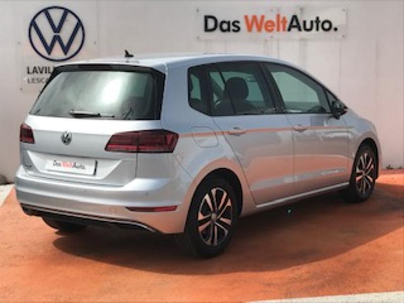 Volkswagen Golf Sportsvan 1.6 TDI 115ch BlueMotion Technology FAP IQ.Drive Euro6d-T Argent occasion à LESCAR - photo n°3