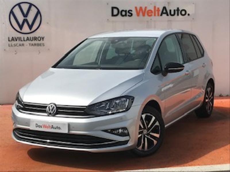 Volkswagen Golf Sportsvan 1.6 TDI 115ch BlueMotion Technology FAP IQ.Drive Euro6d-T Argent occasion à LESCAR