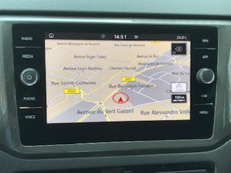 Volkswagen Golf Sportsvan 1.6 TDI 115ch BlueMotion Technology FAP IQ.Drive Euro6d-T Argent occasion à LESCAR - photo n°7