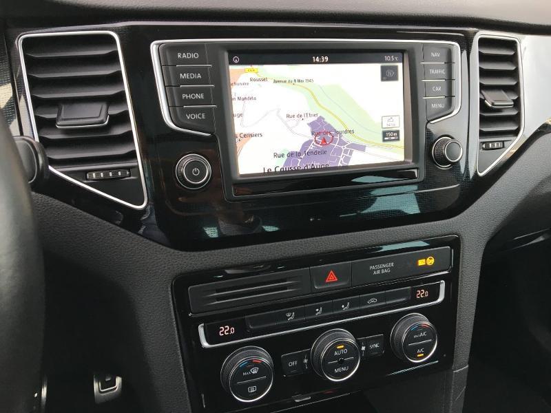 Volkswagen Golf Sportsvan 1.6 TDI 115ch BlueMotion Technology FAP Sound DSG7 Noir occasion à Mende - photo n°8