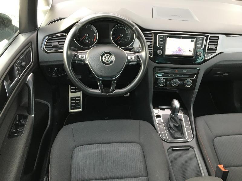 Volkswagen Golf Sportsvan 1.6 TDI 115ch BlueMotion Technology FAP Sound DSG7 Noir occasion à Mende - photo n°5