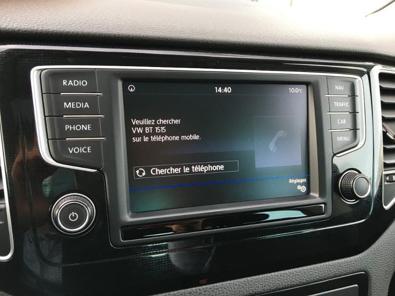 Volkswagen Golf Sportsvan 1.6 TDI 115ch BlueMotion Technology FAP Sound DSG7 Noir occasion à Mende - photo n°11