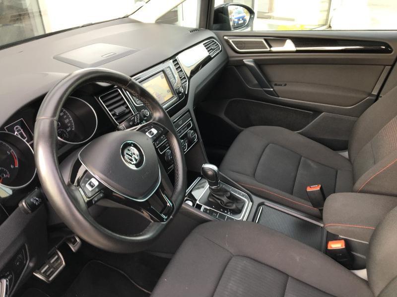 Volkswagen Golf Sportsvan 1.6 TDI 115ch BlueMotion Technology FAP Sound DSG7 Noir occasion à Mende - photo n°6