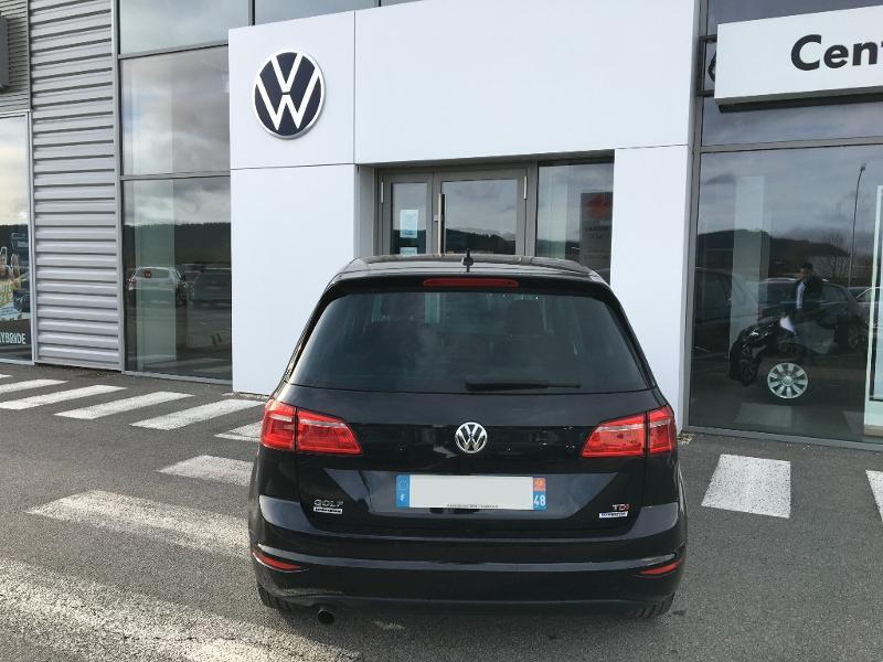 Volkswagen Golf Sportsvan 1.6 TDI 115ch BlueMotion Technology FAP Sound DSG7 Noir occasion à Mende - photo n°4