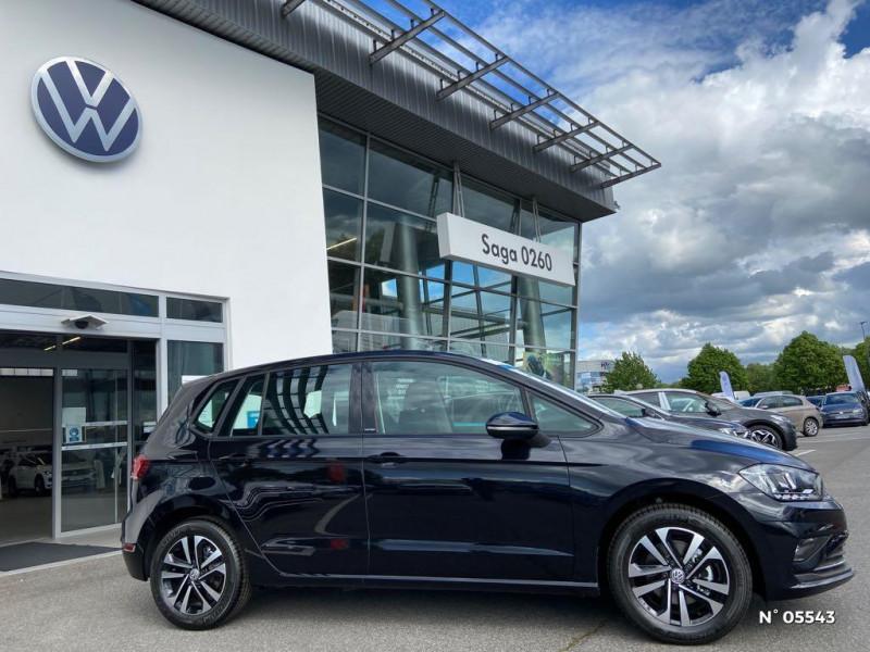 Volkswagen Golf Sportsvan 1.6 TDI 115ch BlueMotion Technology FAP United Euro6d-T Noir occasion à Beauvais - photo n°8