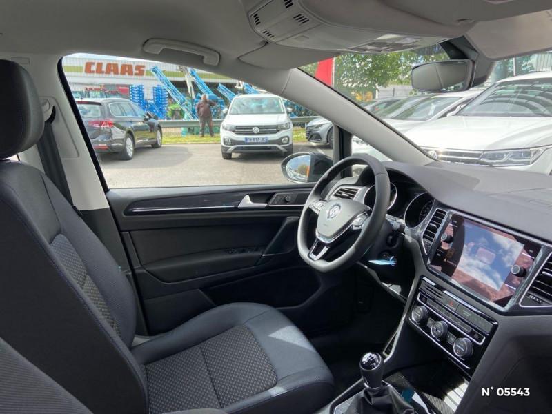 Volkswagen Golf Sportsvan 1.6 TDI 115ch BlueMotion Technology FAP United Euro6d-T Noir occasion à Beauvais - photo n°4