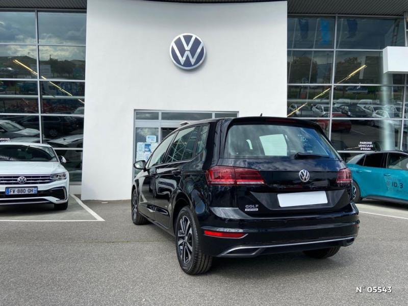 Volkswagen Golf Sportsvan 1.6 TDI 115ch BlueMotion Technology FAP United Euro6d-T Noir occasion à Beauvais - photo n°6