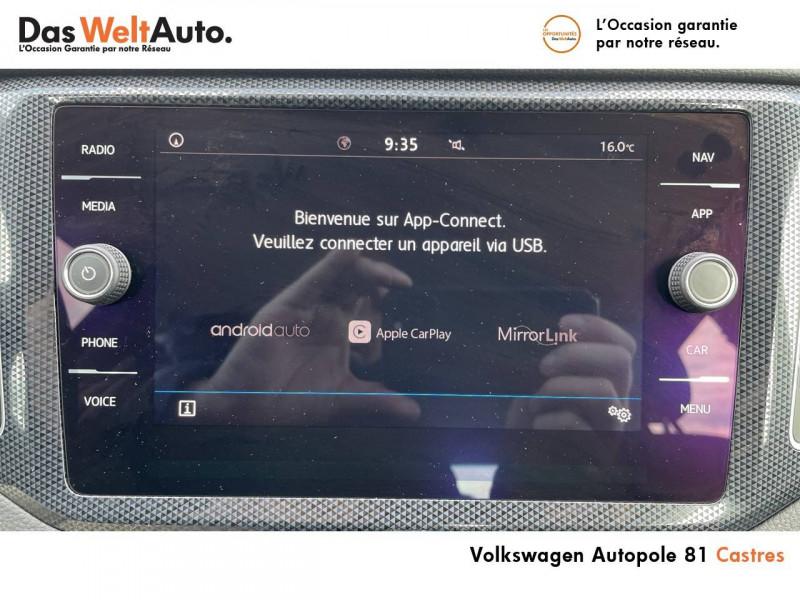 Volkswagen Golf Sportsvan Golf Sportsvan 1.0 TSI 115 BVM6 United 5p Noir occasion à Castres - photo n°16