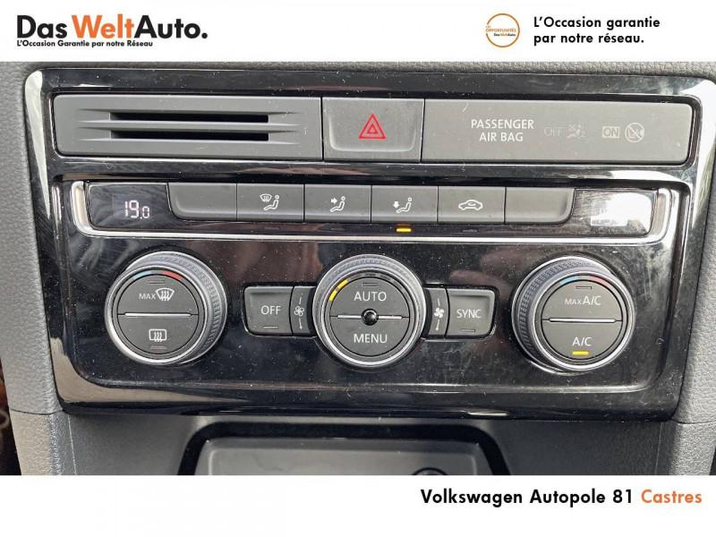 Volkswagen Golf Sportsvan Golf Sportsvan 1.0 TSI 115 BVM6 United 5p Noir occasion à Castres - photo n°17