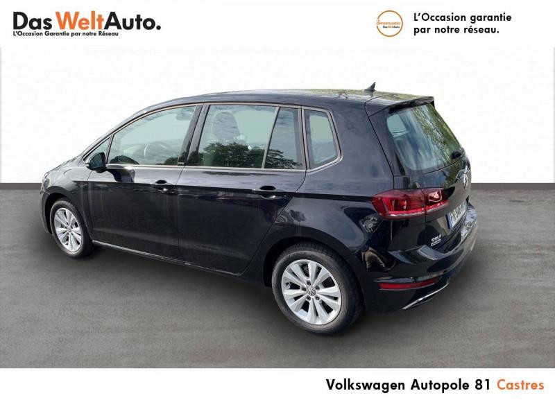 Volkswagen Golf Sportsvan Golf Sportsvan 1.0 TSI 115 BVM6 United 5p Noir occasion à Castres - photo n°3