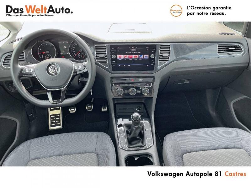 Volkswagen Golf Sportsvan Golf Sportsvan 1.0 TSI 115 BVM6 United 5p Noir occasion à Castres - photo n°7