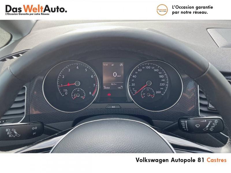 Volkswagen Golf Sportsvan Golf Sportsvan 1.0 TSI 115 BVM6 United 5p Noir occasion à Castres - photo n°10