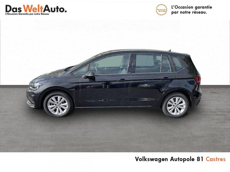 Volkswagen Golf Sportsvan Golf Sportsvan 1.0 TSI 115 BVM6 United 5p Noir occasion à Castres - photo n°2