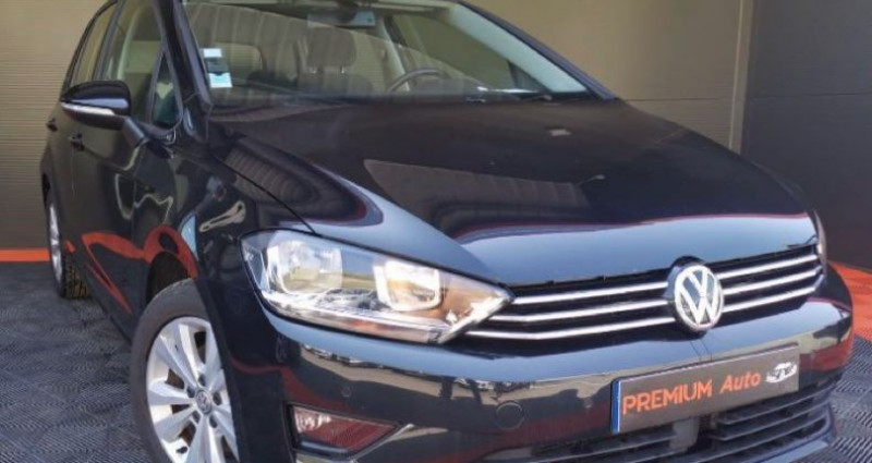 Volkswagen Golf Sportsvan Sportvan 1.6 tdi 110 DSG Conforline Noir occasion à Francin