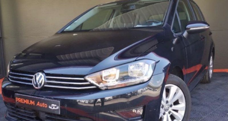 Volkswagen Golf Sportsvan Sportvan 1.6 tdi 110 DSG Conforline Noir occasion à Francin - photo n°2