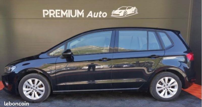 Volkswagen Golf Sportsvan Sportvan 1.6 tdi 110 DSG Conforline Noir occasion à Francin - photo n°3