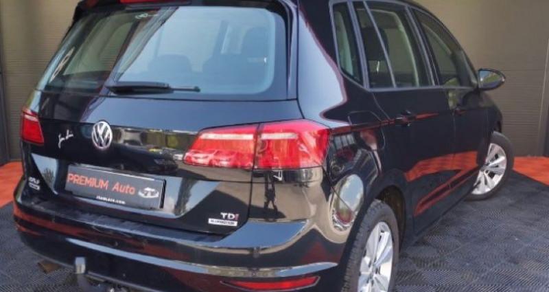 Volkswagen Golf Sportsvan Sportvan 1.6 tdi 110 DSG Conforline Noir occasion à Francin - photo n°4