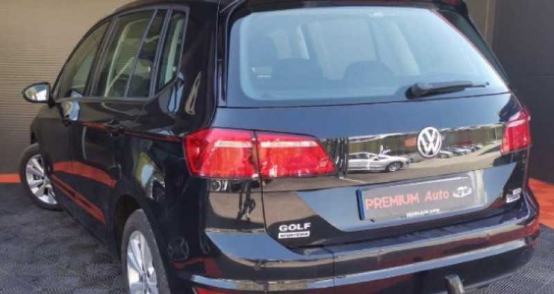 Volkswagen Golf Sportsvan Sportvan 1.6 tdi 110 DSG Conforline Noir occasion à Francin - photo n°5
