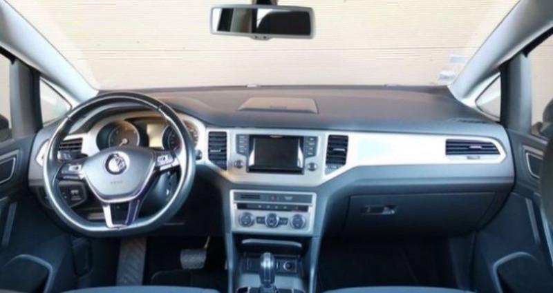 Volkswagen Golf Sportsvan Sportvan 1.6 tdi 110 DSG Conforline Noir occasion à Francin - photo n°6