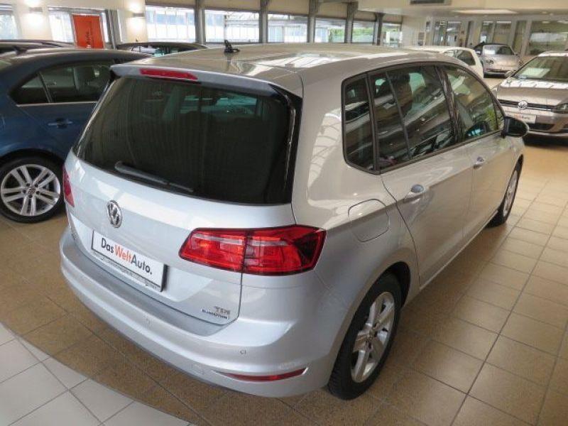 Volkswagen Golf Sportsvan VII 1.6 TDI 110 Gris occasion à Beaupuy - photo n°3