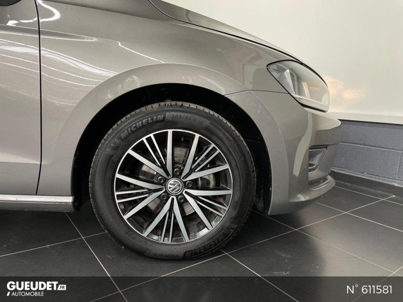 Volkswagen Golf SW 1.4 TSI 150ch BlueMotion Technology Confortline DSG7 Gris occasion à Rivery - photo n°9