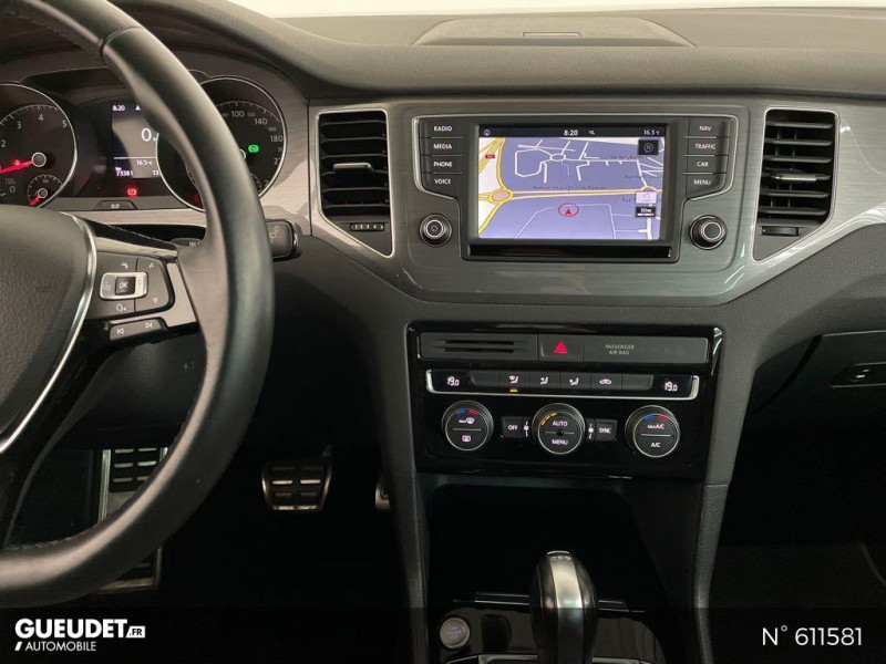 Volkswagen Golf SW 1.4 TSI 150ch BlueMotion Technology Confortline DSG7 Gris occasion à Rivery - photo n°11