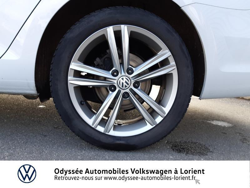 Volkswagen Golf SW 1.6 TDI 115ch FAP BlueMotion Technology First Edition DSG7 Blanc occasion à Lanester - photo n°14