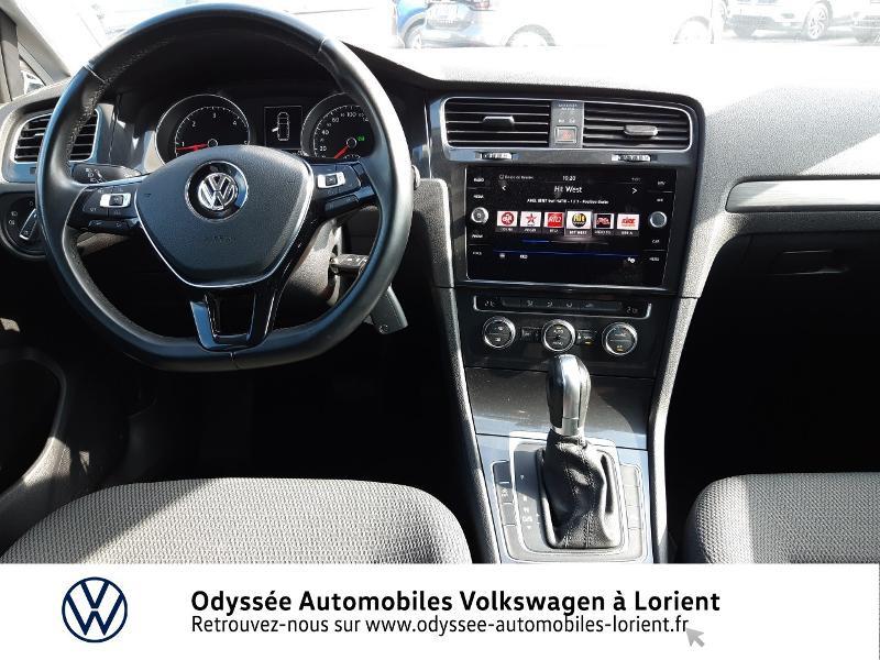 Volkswagen Golf SW 1.6 TDI 115ch FAP BlueMotion Technology First Edition DSG7 Blanc occasion à Lanester - photo n°7