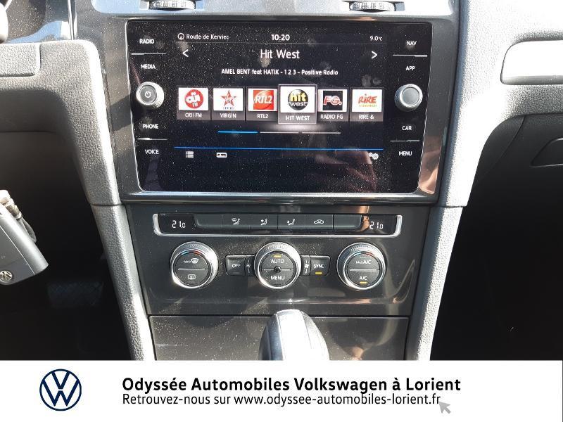 Volkswagen Golf SW 1.6 TDI 115ch FAP BlueMotion Technology First Edition DSG7 Blanc occasion à Lanester - photo n°8