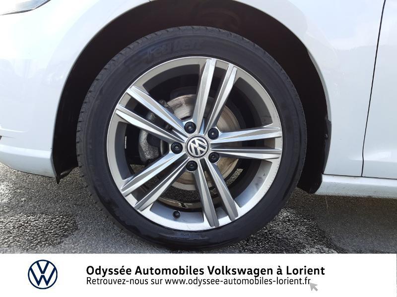 Volkswagen Golf SW 1.6 TDI 115ch FAP BlueMotion Technology First Edition DSG7 Blanc occasion à Lanester - photo n°15