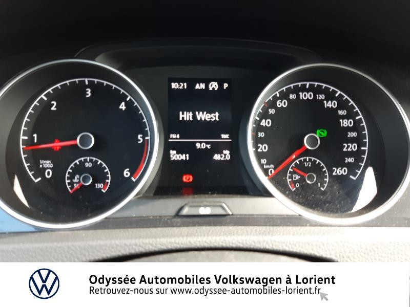 Volkswagen Golf SW 1.6 TDI 115ch FAP BlueMotion Technology First Edition DSG7 Blanc occasion à Lanester - photo n°10