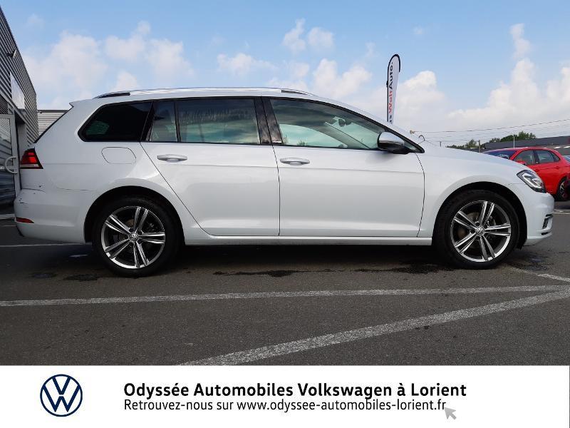 Volkswagen Golf SW 1.6 TDI 115ch FAP BlueMotion Technology First Edition DSG7 Blanc occasion à Lanester - photo n°5