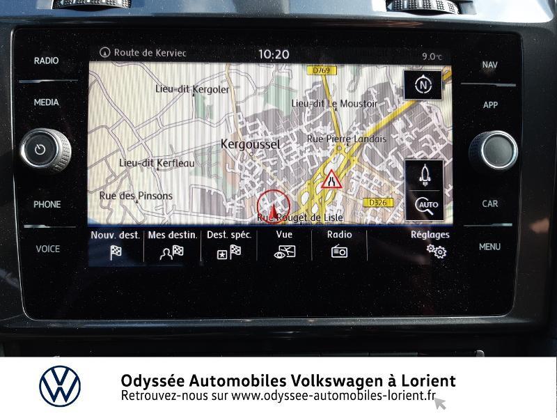 Volkswagen Golf SW 1.6 TDI 115ch FAP BlueMotion Technology First Edition DSG7 Blanc occasion à Lanester - photo n°9