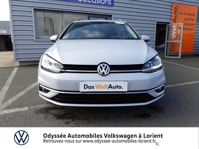 Volkswagen Golf SW 1.6 TDI 115ch FAP BlueMotion Technology First Edition DSG7 Blanc occasion à Lanester - photo n°6