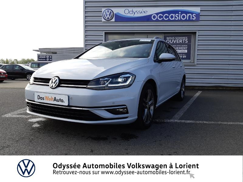 Volkswagen Golf SW 1.6 TDI 115ch FAP BlueMotion Technology First Edition DSG7 Blanc occasion à Lanester