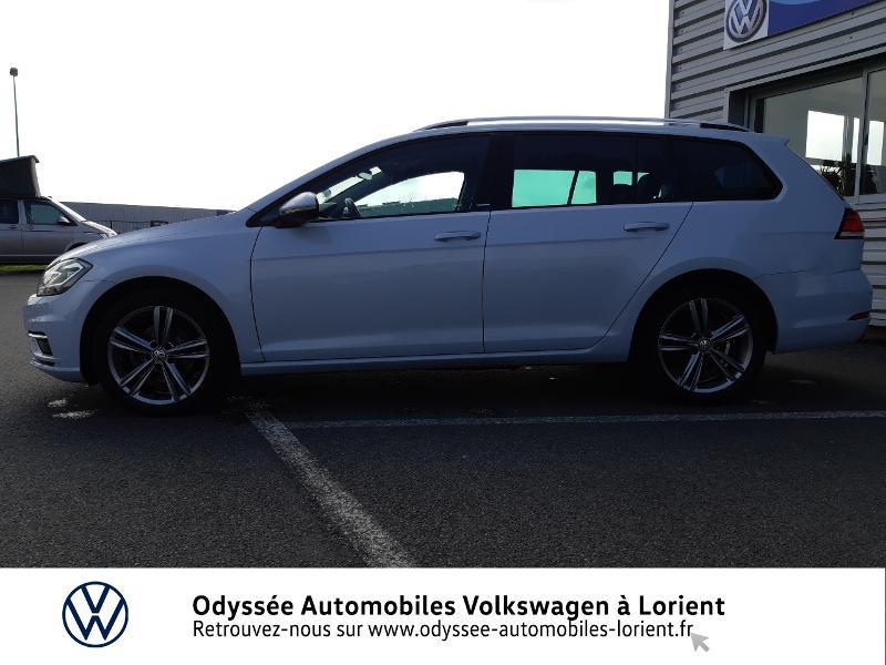 Volkswagen Golf SW 1.6 TDI 115ch FAP BlueMotion Technology First Edition DSG7 Blanc occasion à Lanester - photo n°2