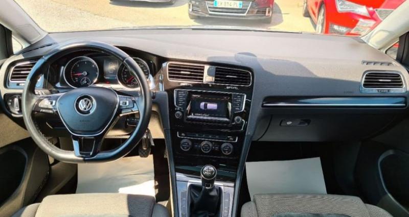 Volkswagen Golf SW sw 1.6 tdi 105 carat 04/2014 GPS ACC FRONT ASSIST BLUETOOTH  occasion à Frontenex - photo n°5