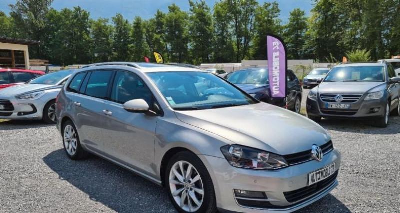 Volkswagen Golf SW sw 1.6 tdi 105 carat 04/2014 GPS ACC FRONT ASSIST BLUETOOTH  occasion à Frontenex - photo n°3