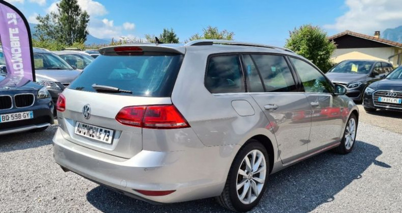 Volkswagen Golf SW sw 1.6 tdi 105 carat 04/2014 GPS ACC FRONT ASSIST BLUETOOTH  occasion à Frontenex - photo n°2