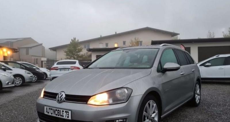 Volkswagen Golf SW sw 1.6 tdi 105 carat 04/2014 GPS ACC FRONT ASSIST BLUETOOTH  occasion à Frontenex
