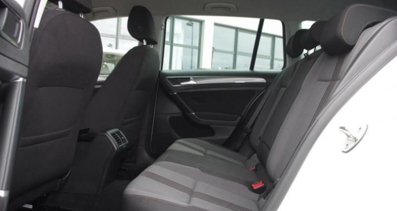 Volkswagen Golf SW VII SW 1.6 TDI 110 BLUEMOTION TECHNOLOGY ALLSTAR Blanc occasion à Chambourcy - photo n°4