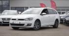 Volkswagen Golf SW VII SW 1.6 TDI 110 BLUEMOTION TECHNOLOGY ALLSTAR Blanc à Chambourcy 78