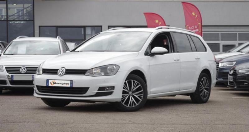 Volkswagen Golf SW VII SW 1.6 TDI 110 BLUEMOTION TECHNOLOGY ALLSTAR Blanc occasion à Chambourcy
